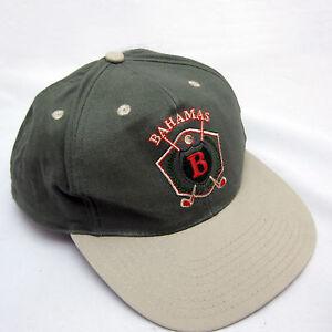 Bahamas Golf Cap Dad Hat Snapback Khaki and Olive Colors