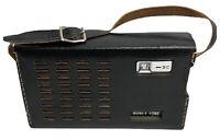 Vintage Honey Tone Black Handheld Radio
