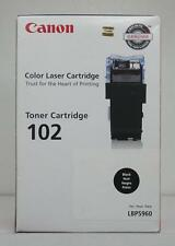 Genuine Canon LBP5960 ( 102 | 9645A006 | 9645A006AA ) Black Toner (New Sealed)