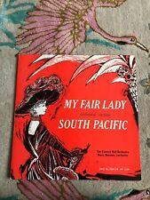 "MY FAIR LADY / SOUTH PACIFIC - 12"" Vinyl LP Concert Hall BP-1234 Free UK Postage"