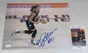 Sabrina Ionescu Oregon signed New York Liberty 11x14 photo autographed JSA