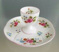 Shelley Rose & Red Daisy Egg Cup & Under Plate Dainty