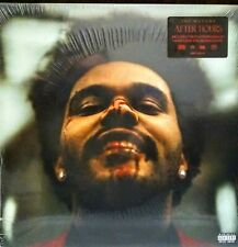 The Weekend - After Hours - Deluxe Ed 2LP Clear w Red Splat - New Vinyl, Sealed