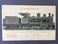 ±1905 LOCOMOTORA VAPOR de ESPAÑA del NORTE No 5144 TREN Ferrocarril Locomotive
