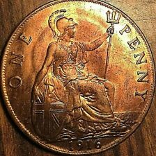 1916 GREAT BRITAIN GEORGE V PENNY - Lustrous uncirculated
