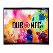 Duronic APS80 /43 Ecran / toile de projection – 80'' ou 203 cm (163 x 122 cm)