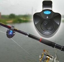Elektronisch Bissanzeiger LED Fisch Bissmelder Angeln Alarmglocke Anlage 3684