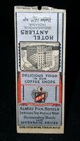 Hotel Antlers, Indianapolis,Indiana  1930s/40s vintage Matchbook Cover