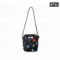 BTS BT21 Official Authentic Goods Space Squad Pattern Cross Bag +Tracking Number