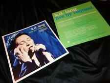 k.d. lang *Six Live By Request 2001 12x12 Promotional Cardboard Poster Flats!