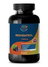 Anti-Aging - Resveratrol Supreme 1200 - Fat Oxidation - Antioxidant - 1 B 60 Ct