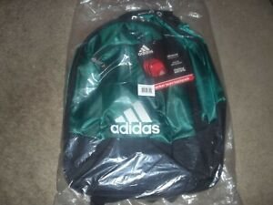ADIDAS CLIMACOOL Strap Backpack Book Bag Emerald Green New With Tags