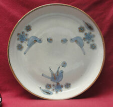 "KEN EDWARDS Mexican Art Pottery - EL PALOMAR / BLUE Pattern - 14"" CHARGER"