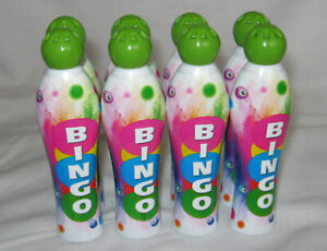 8 Bingo Dabbers, Green, 35 ml, Pack of 8