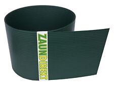Premium Hart PVC Sichtschutz Streifen RAL 6005 Moosgrün Windschutz (1,35 mm)