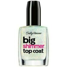 Sally Hansen Big Shimmer Top Coat .4 Fl Oz Twinkle Snows  # 110