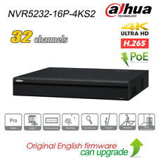 Dahua NVR5232-16P-4KS2 32CH 16POE 4K H.265 2 SATA P2P Network Video Recorder