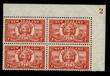 Pre-Decimal Mint Hinged Stamp Blocks