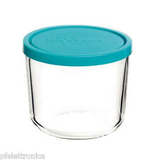 Contenitore per alimenti in vetro TEMPERATO per frigorifero freezer 15 Alta