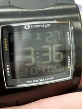 Lopex World Class 706 Freestyle H2O 52401 F299-07 100M Men's Watch Digital Black