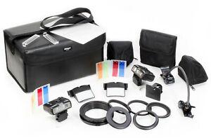 Nikon Makroblitz-Kit R1 mit 2x SB-R200, FIltern, Ringen, Diffusor, Taschen etc.!
