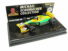 BENETTON FORD B192 M.SCHUMACHER GP SPA BELGIEN 30.08.1992 PMA 510641100 1/64 OVP