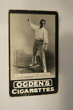 1901 -Vintage -Ogden's -Series A -TAB Cricket Card - E. Wainwright - Yorkshire.