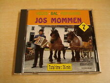 ACCORDEON CD / JOS MOMMEN - VOLKSBAL POPULAIRE NR 7