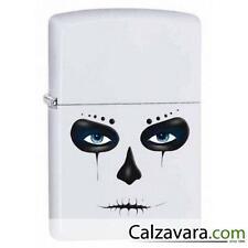 Zippo Lighter Accendino a Benzina Antivento 28828 - Maschera Bianca White Mask