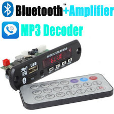 Wireless Bluetooth 12V MP3 WMA Decoder Board Audio Module USB TF Radio NEW