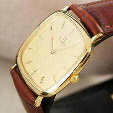 Vintage Omega Deville  Quartz Cal.1378  Gold -Plated Men's Dress Watch