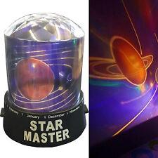 KIDS DIAMOND UNIVERSE PLANET NIGHT LIGHT SKY LED PROJECTOR MOOD LAMP BEDROOM