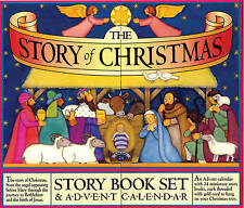 The Story of Christmas Story Book Set & Advent Calendar by Croll, Carolyn
