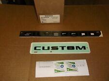 2019 Chevy Silverado & Custom Black Trail Boss 2 Pc Emblem Kit~84300956~OEM GM~