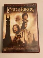 Lord of the Rings 2: The Two Towers (DVD, 2-Disc Full Screen Edition)