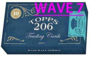 2021 TOPPS 206/T-206 Wave 7 BASE Buy More & $ave 99¢ SHIP PRE-SALE YOU PICK!