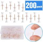 Grtard Push Pins Rose Gold Thumb Tacks 200-Count Standard Pins Gold St