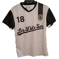 Men's Medium Chicago Los White Sox Soccer Style Jersey Coca Cola SGA