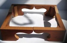 More details for mahogany bracket feet - antique longcase clock, beautiful period oak *handmade*