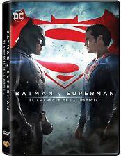 BATMAN V SUPERMAN EL AMANECER DE LA JUSTICIA DVD NUEVO ( SIN ABRIR ) BEN AFFLECK