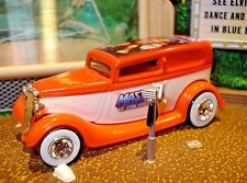 1934 FORD SEDAN LIMITED EDITION STREET ROD 1/64 MASTERS OF THE UNIVERSE CRUISER