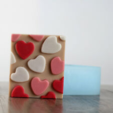 Heart Silicone Soap Moulds Making Tools Cake Baking Chocolate Craft Resin Mould