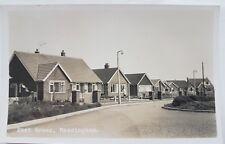 East Green, Messingham, Lincs, RP, AW Bourne, Postcard