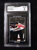 1993 Pro Billiards Pool - Efren Reyes Rookie Card #108 - GMA Graded 8 NM-MT