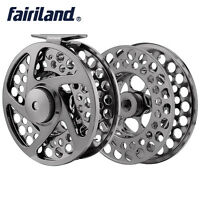 110mm New Fly Fishing Reel  L/R-Handed Aluminum Alloy Reels Set w/ a Spare Spool