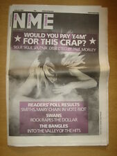 NME 1986 MARCH 8 SIGUE SIGUE SPUTNIK SMITHS SWANS BANGLES