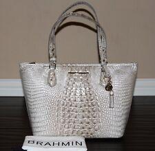 💚 Brahmin Medium Asher Sterling Melbourne Handbag Purse Tote Shoulder Bag NWT