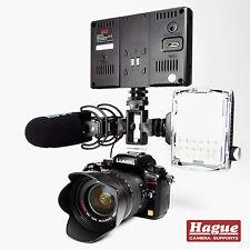 Cámara de triple de la Haya Soporte de Zapata de accesorios para cámaras DSLR y videocámaras (TSB)
