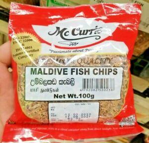 McCurrie MALDIVE FISH CHIPS Ceylon 100g,200g,400g Registered Post Tracking