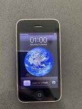 Apple iPhone 3GS 3G 16GB Black iOS Smart Phone - Good Condition Unlocked